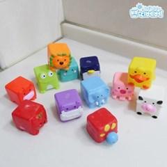 쁘띠베베 귀여운 목욕동물친구12PCS
