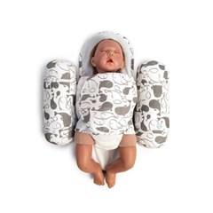 애기바당 신생아 기능성속싸개 모드락속싸개 [돌고래패턴]