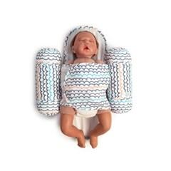 애기바당 신생아 기능성속싸개 모드락속싸개 [물결패턴]