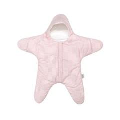 [벨몽] 사계절용 스타 신생아우주복/겉싸개-세인트 핑크