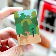 브리스크스타일 성냥(Little forest Deer)_3개입_(989031)