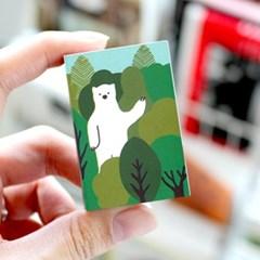 브리스크스타일 성냥(Little forest Bear)_3개입_(989032)