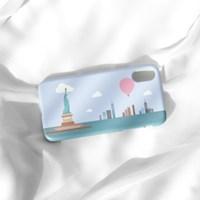 열기구여행 뉴욕 자유의 여신상 폰케이스