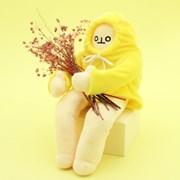 젤리크루 웅크린 바나나 관절인형 40cm