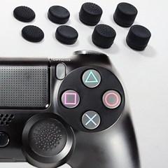 듀얼쇼크4 PS4 보호 악세사리 스틱 커버 세트 8개입