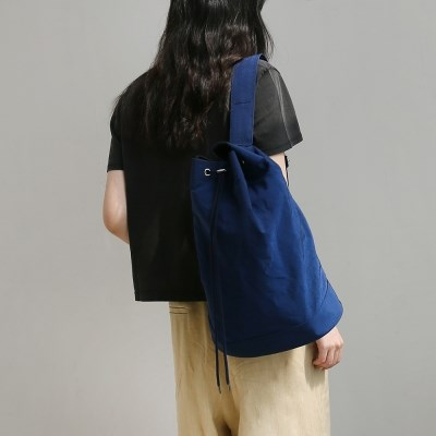 monochrome shoulder bag _ blue