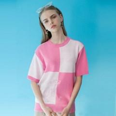 [SS19 Pink Panther] PP Walking S/S Knit(Pink)_(673246)