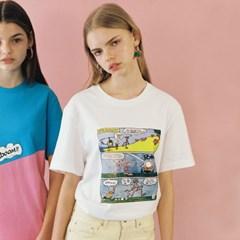 [SS19 Pink Panther] PP Episode T-Shirts(White)_(673243)