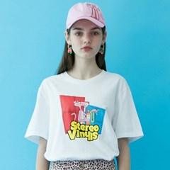 [SS19 Pink Panther] PP Vintage T-Shirts(White)_(673235)