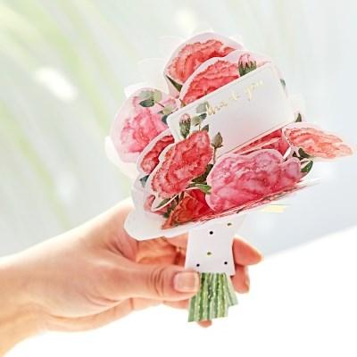 디원 카네이션 꽃다발 (YC12)
