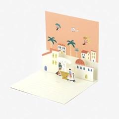 팝업 카드 - 18 Village