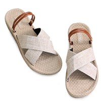 kami et muse Enamel double strap daily slippers_KM19s092