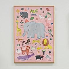 굴리굴리 / ABC 동물포스터