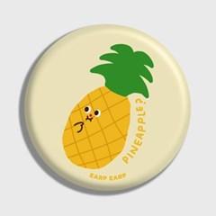 [어프어프] 손거울 I'm pineapple-ivory