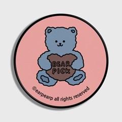 [어프어프] 스마트톡 Bear pick-pink