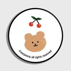 [어프어프] 스마트톡 Dot cherry bear-white