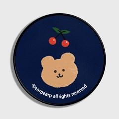 [어프어프] 스마트톡 Dot cherry bear-navy
