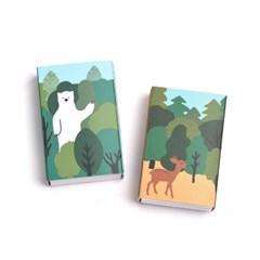 브리스크스타일 성냥(Little forest Deer/Bear Set)_(993644)