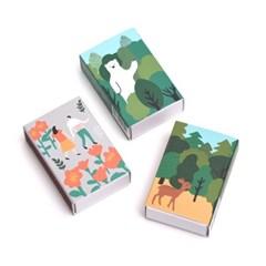브리스크스타일 성냥(Deer/Bear/Flower Set)_(993643)