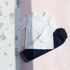 카라 아동 티셔츠 IB1CL239U