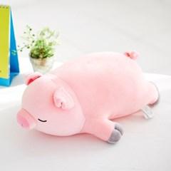 모찌모찌 꿀잠쿠션 Ver.2 돼지 동물인형 30CM_(1180806)