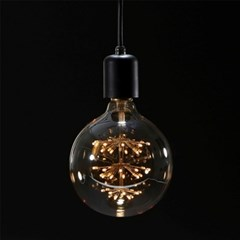 [반짝조명] LED 에디슨 볼 눈꽃전구 2W (G95)