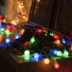 어반 LED 버블전구 100구 USB형 컬러_(1247983)