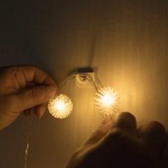 어반 LED 눈꽃전구 20구 기본점멸형_(1247982)