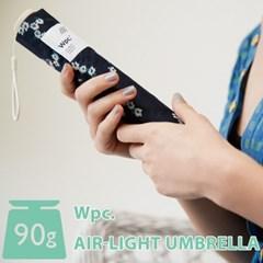 wpc우산 초경량 90g 빈티지 플라워 미니 3단우산 AL-016