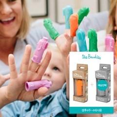브러쉬즈 손가락인형칫솔 싱글2종 디자인선택 유아 아기 칫솔 추천