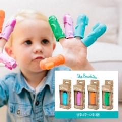 브러쉬즈 손가락인형칫솔 싱글1종 디자인선택 유아 아기 칫솔 추천