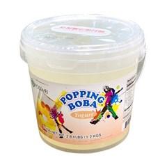 꽃샘 팝핑보바 요거트향 1.2kg/팝핑보바/버블티_(800763)