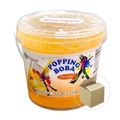 꽃샘 팝핑보바 오렌지향 1.2kg 1박스(6개)/버블티_(800762)