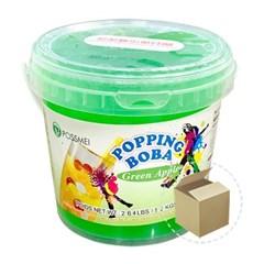 꽃샘 팝핑보바 그린애플향 1.2kg 1박스(6개)/팝핑보바_(800756)
