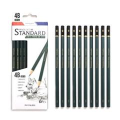 3000 스탠다드 연필세트 4B(10EA)_(2544153)
