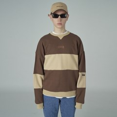 Trisection sweatshirt-brown