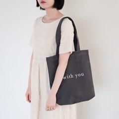 WY Tote bag-Darkgray