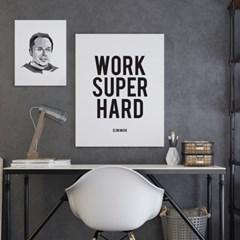 엘론머스크 명언 타이포그래피 액자 인테리어 포스터