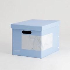 마블 블루 심플정리함 (2p)