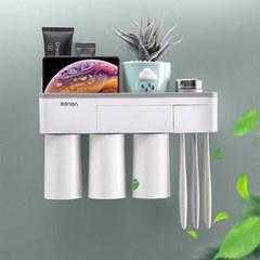 칫솔꽂이 욕실선반 양치컵 칫솔걸이 수납홀더