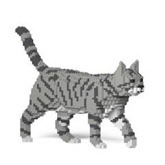 [JEKCA] 걷는 고양이레고 (고등어태비)