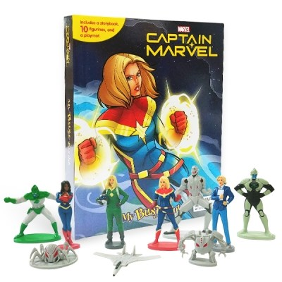 My Busy Book : Marvel Captain Marvel 피규어북