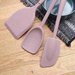 파스텔 3종 조리도구(핑크)