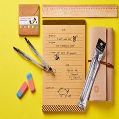 뚜껑없이 마르지 않는 노크식 컴퓨터용 싸인펜