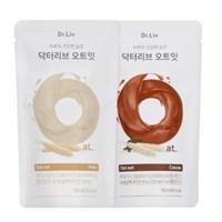 닥터리브 오트잇 플레인&코코아 1박스(20개입)