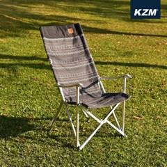 카즈미 감성 릴렉스체어 블랙 K3T3C025BK / 알루미늄 감성 캠핑의자