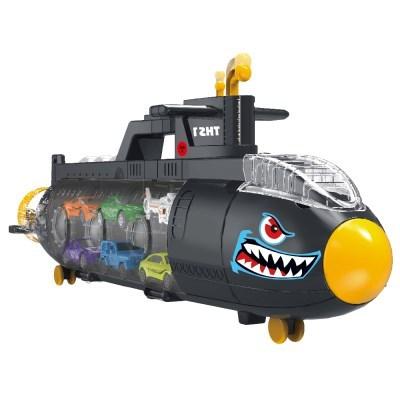 잠수함 캐리어 미니카세트 자동차 장난감