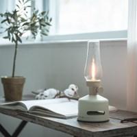 모리모리 캠핑'인테리어용 블루투스 LED 랜턴스피커 아이보리