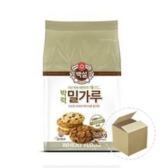 CJ백설 박력 밀가루 2.5kg 1박스(6개)/박력분/밀가루_(805822)