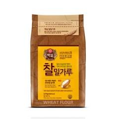 CJ백설 찰밀가루 2.5kg/밀가루/백설 밀가루/찰밀가루_(805826)